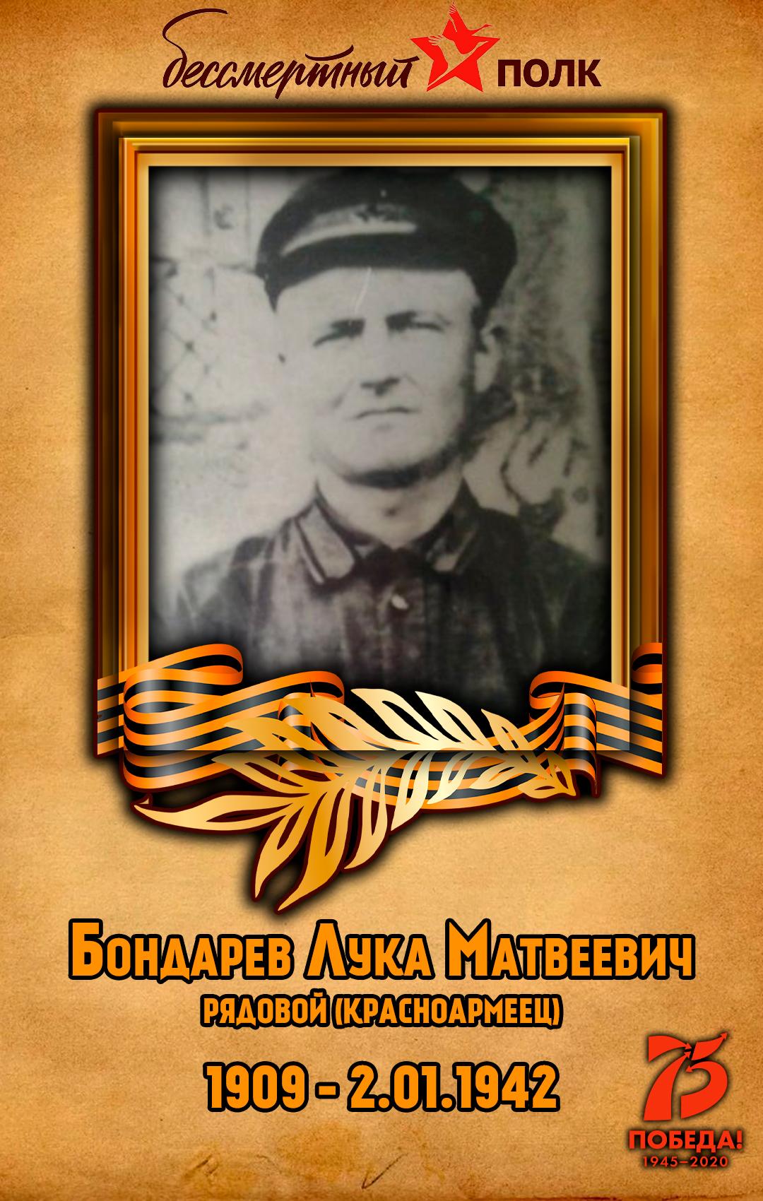 Бондарев-Лука-Матвеевич