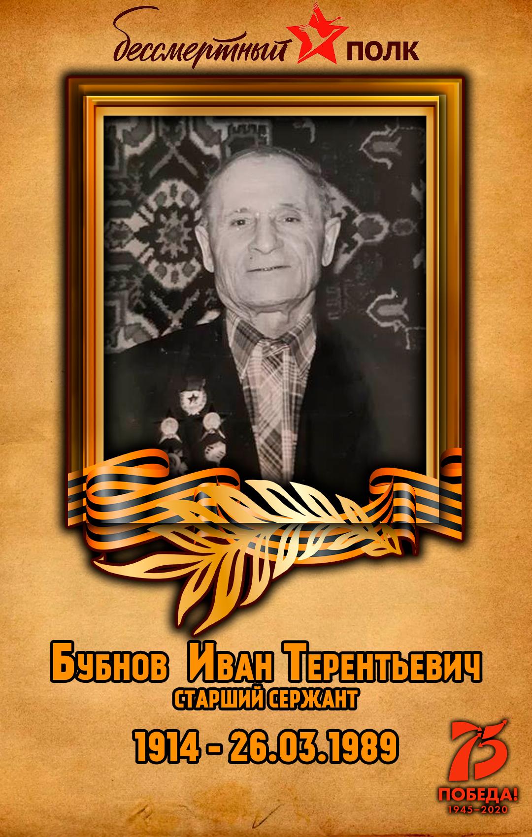 Бубнов--Иван-Терентьевич