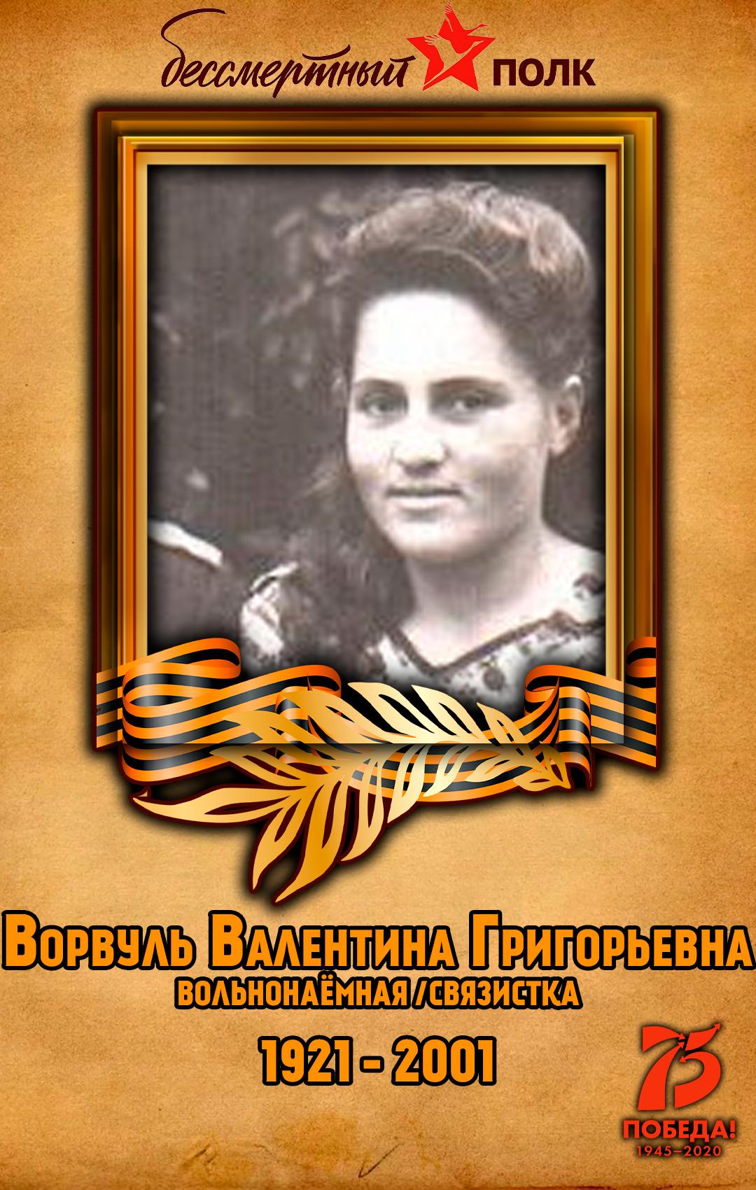 Ворвуль-Валентина-Григорьевна