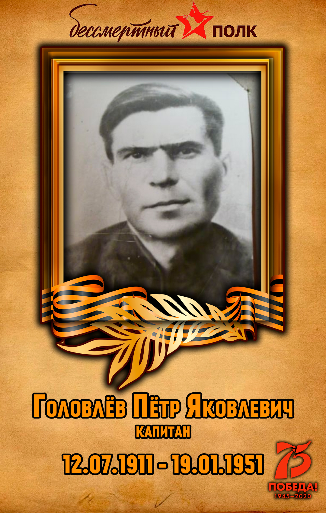 Головлёв-Пётр-Яковлевич