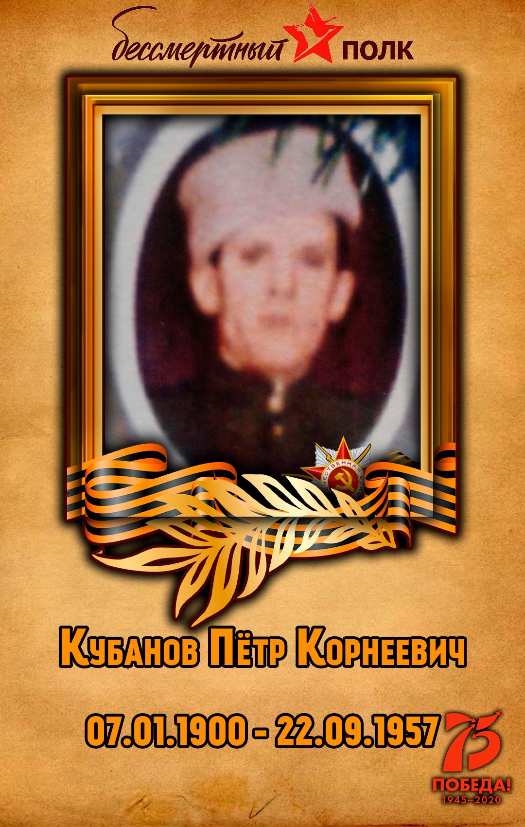 Кубанов-Пётр-Корнеевич