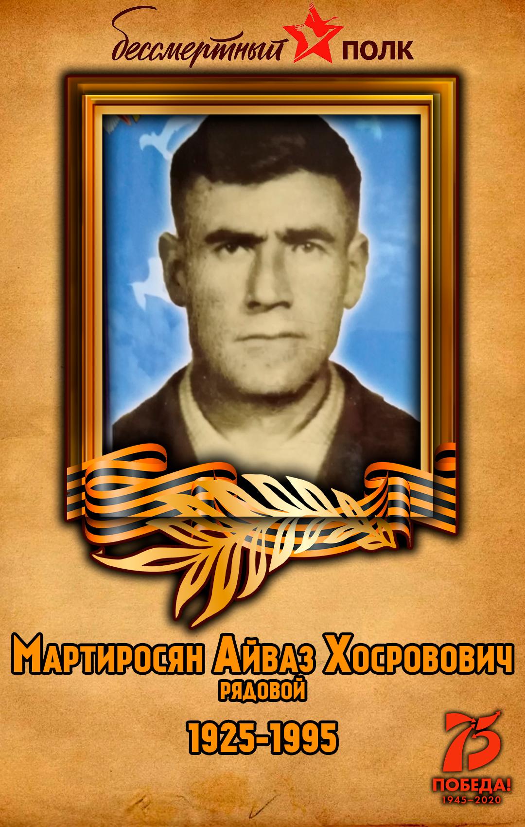 Мартиросян-Айваз-Хосровович