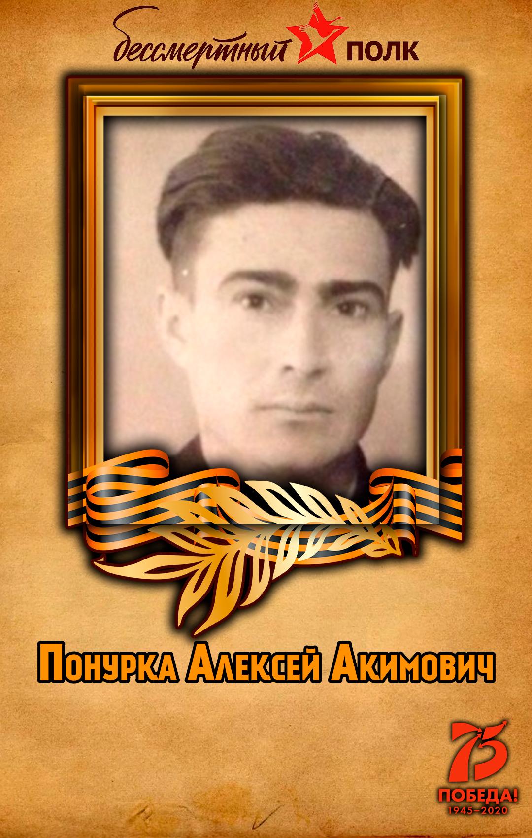 Понурка-Алексей-Акимович