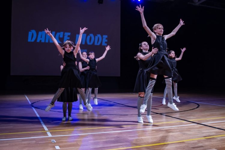 В Волоколамске прошёл отчетный концерт студии современного танца