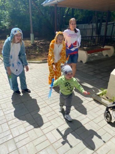 Радость для деток в Волоколамской детской поликлинике