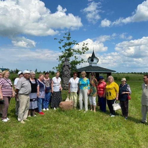 Новый туристический маршрут открыли для себя активные долголеты из Волоколамского округа