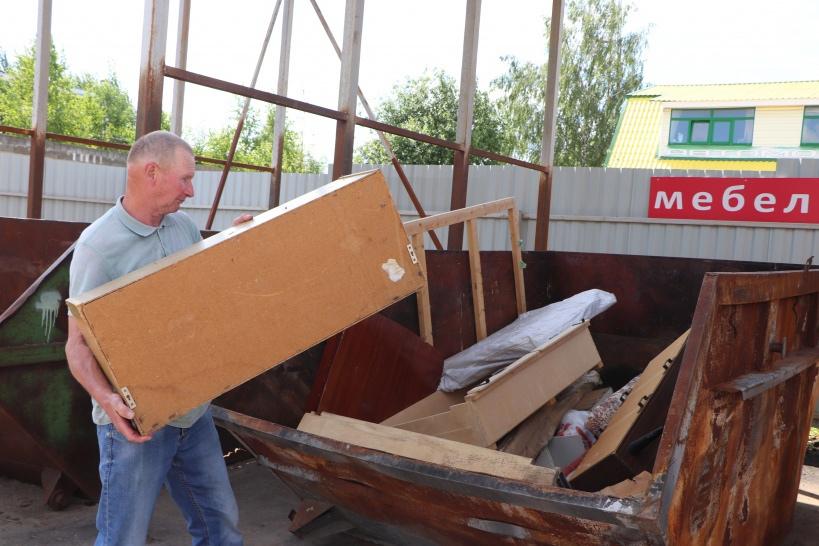 «Мегабак» - удобство вывоза крупногабаритных отходов в Волоколамском округе