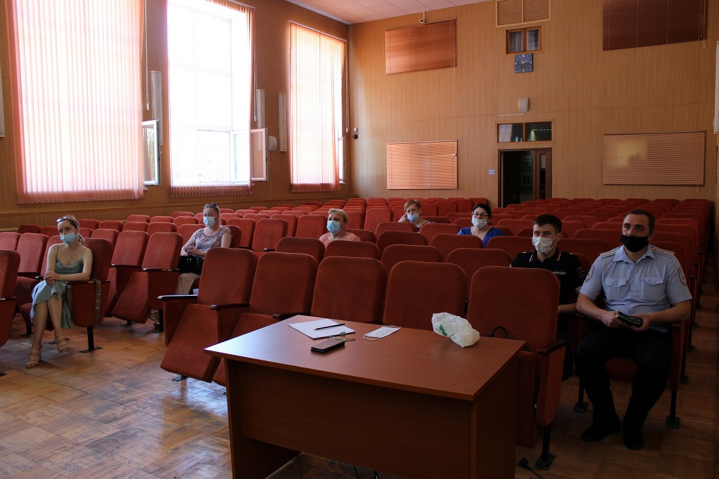 Общественный совет при ОМВД подвёл итоги работы за первое полугодие 2021 года в Волоколамске