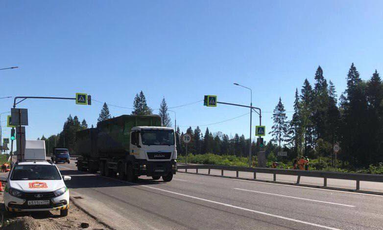 Между Волоколамским и Ленинградским шоссе поставили 2 передвижных комплекса фото-видеофиксации