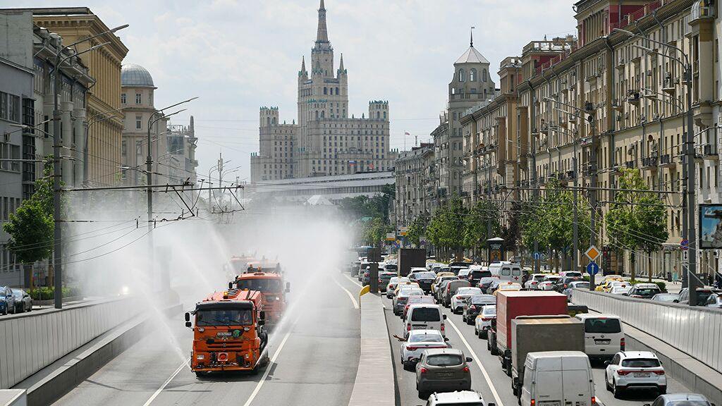 «Оранжевый» уровень погодной опасности объявили в Москве из‑за жары