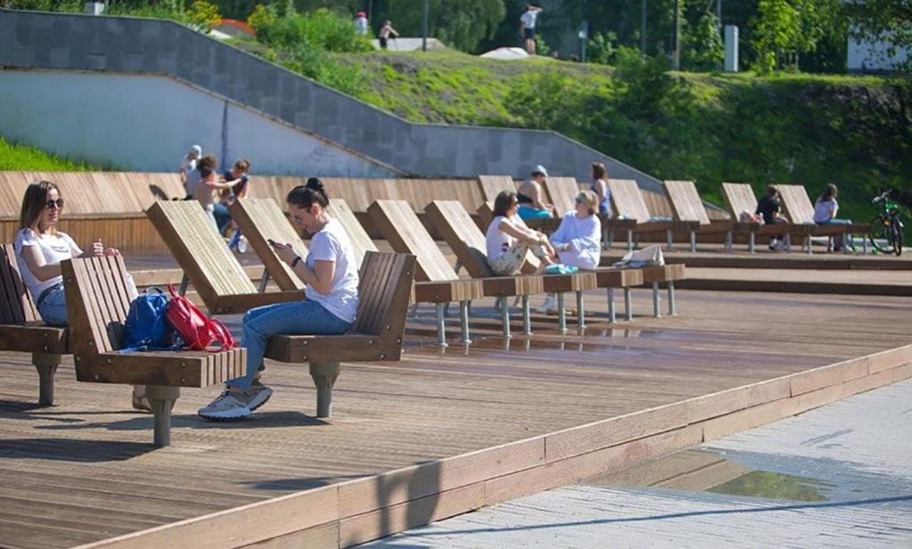О благоустройстве парков, пляжей детских площадок и веломаршрутов рассказал Михаил Хайкин