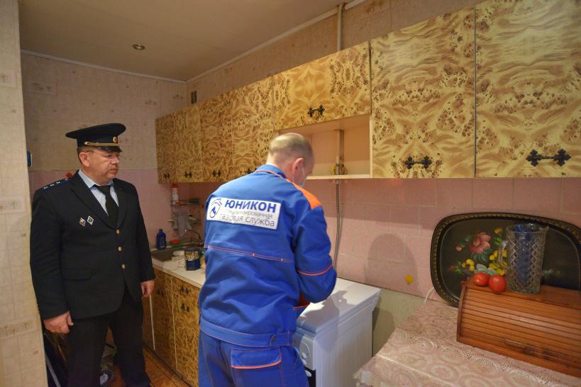 Госжилинспекция напоминает об административной ответственности собственников квартир за препятствие в проведении технического обслуживания газового оборудования