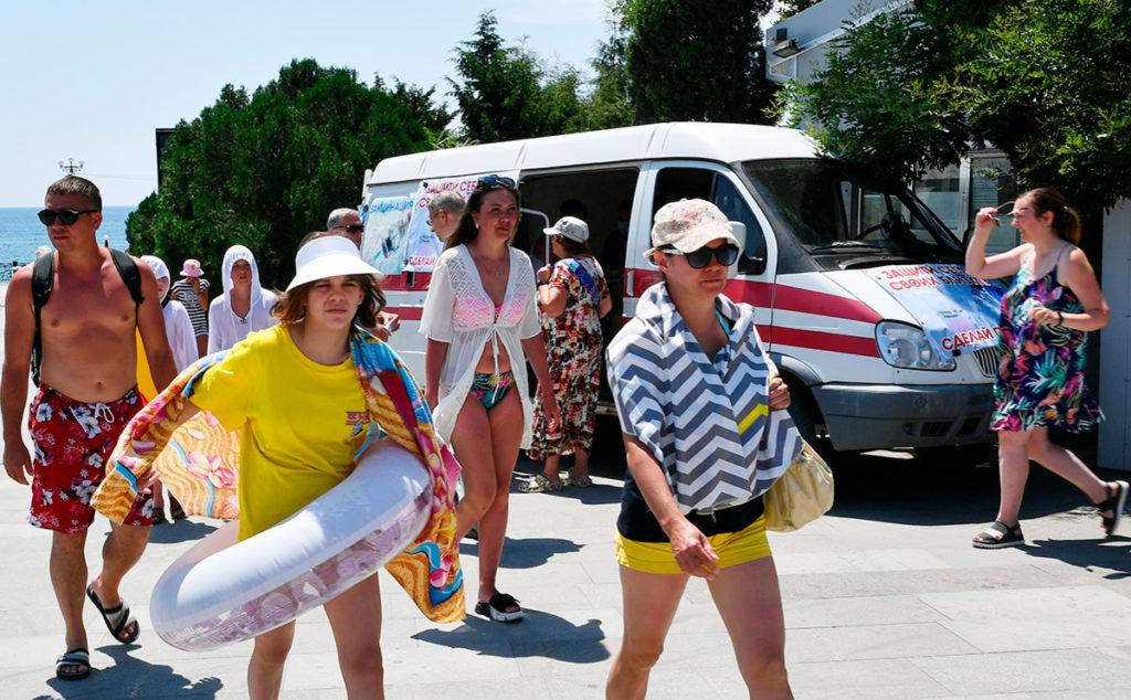 Досрочное закрытие турсезона допустили в Крыму