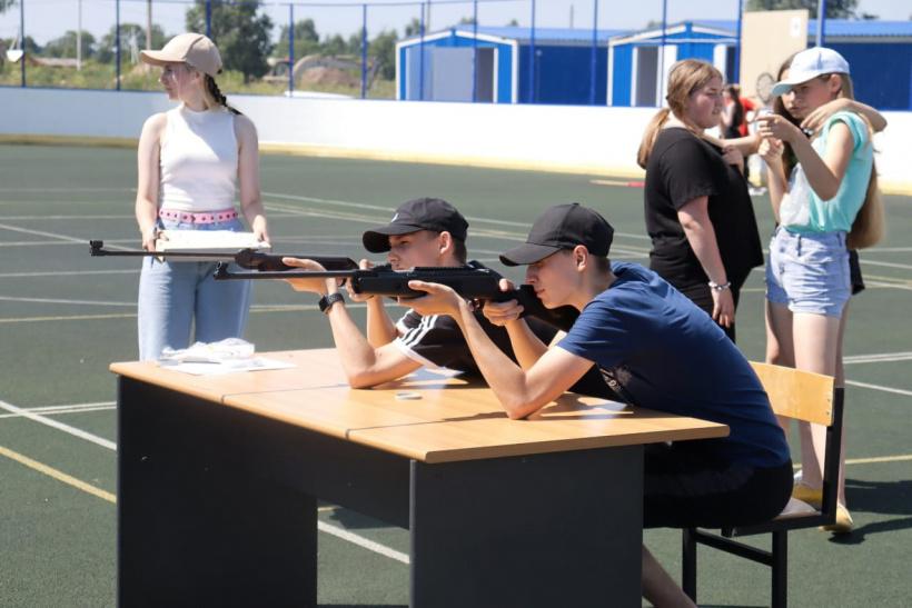 Соревнование по стрелковому пятиборью прошло в деревне Введенское