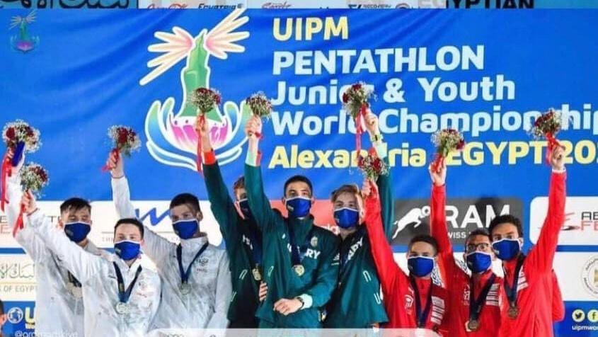 Подмосковный атлет дважды стал серебряным призером первенства мира по пятиборью