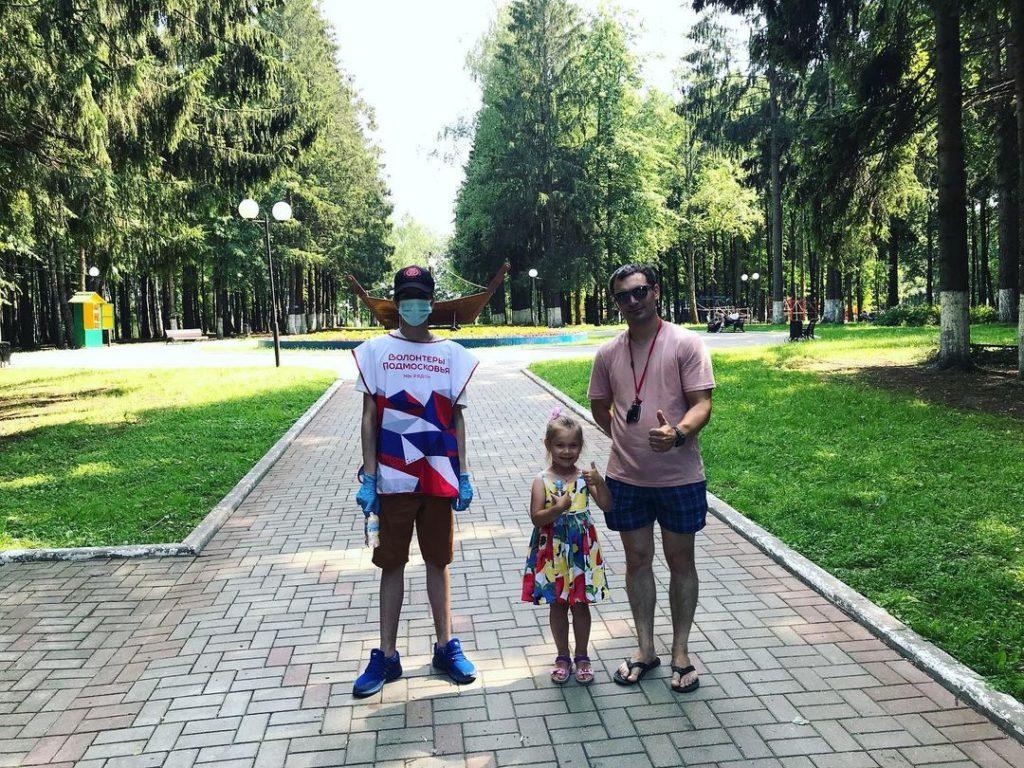 В Волоколамском городском парке снова организована раздача воды
