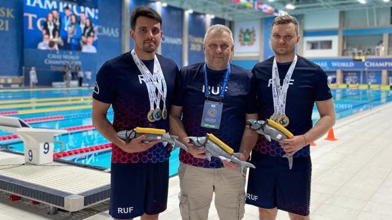 Спортсмены из Подмосковья завоевали 6 медалей на чемпионате мира по подводному спорту