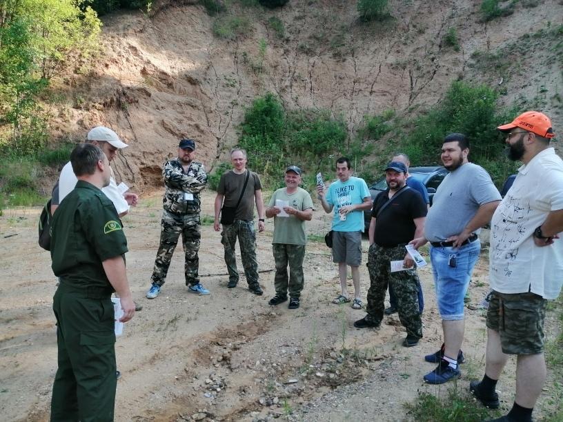 Представители общества охотников и рыболовов приняли участие в соревнованиях по стендовой стрельбе в Волоколамском округе