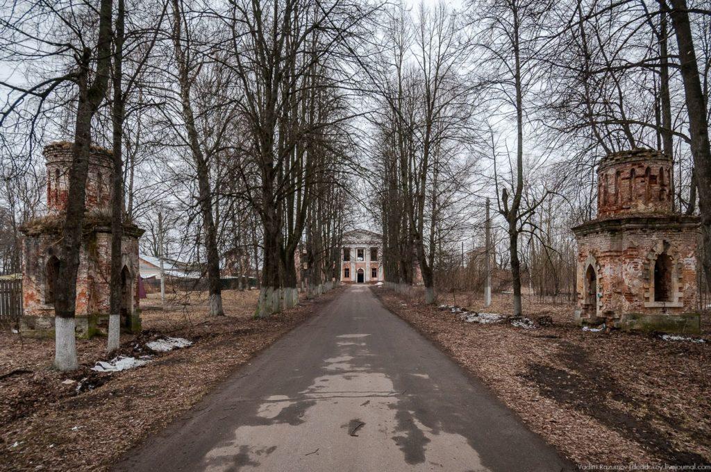 Усадьба Осташево под Волоколамском