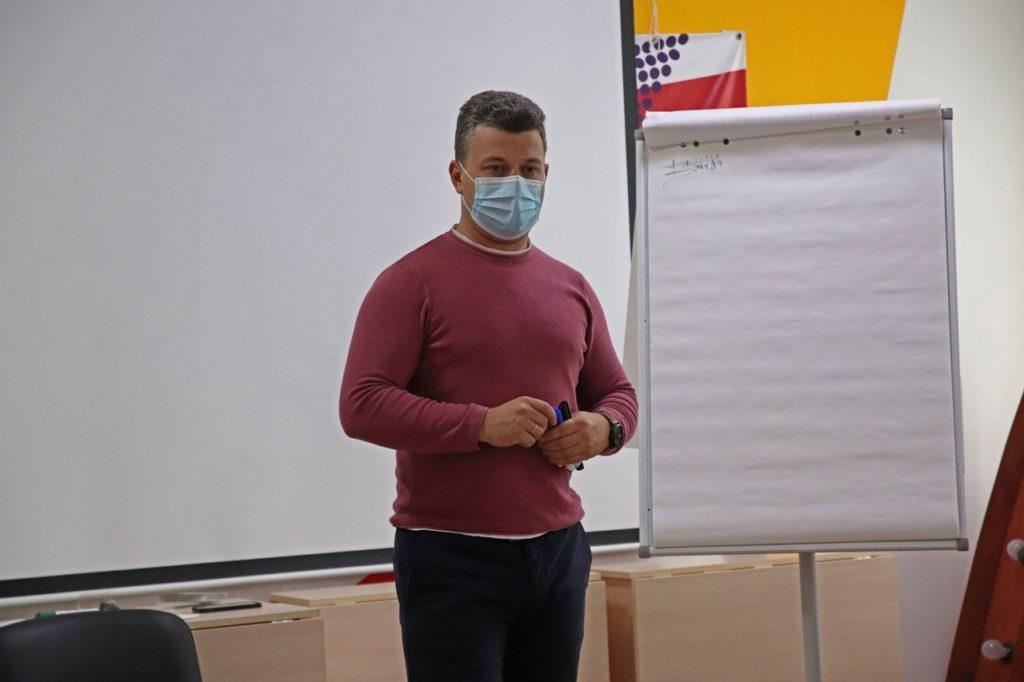 Интересную лекцию для волоколамской молодёжи провёл лидер движения #ВКЛЮЧИВОЛОКОЛАМСК