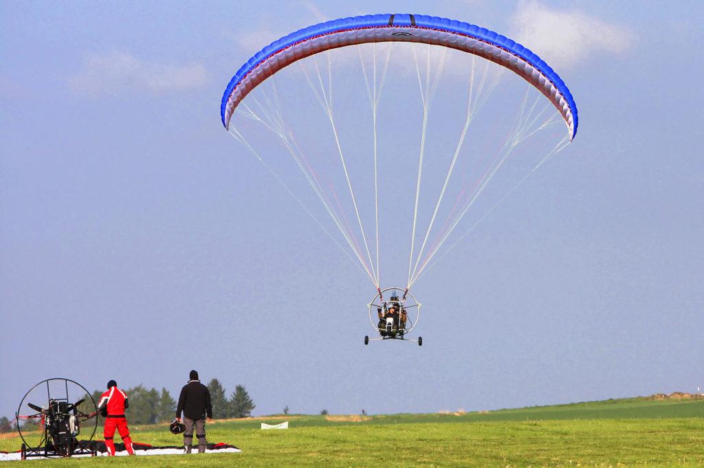 Полёт на паратрайке с инструктором в Волоколамском округе