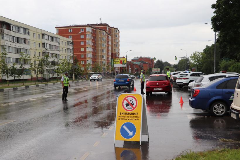 Рейд Нетрезвый водитель в рамках социального раунда Трезвый водитель прошёл в Волоколамском округе