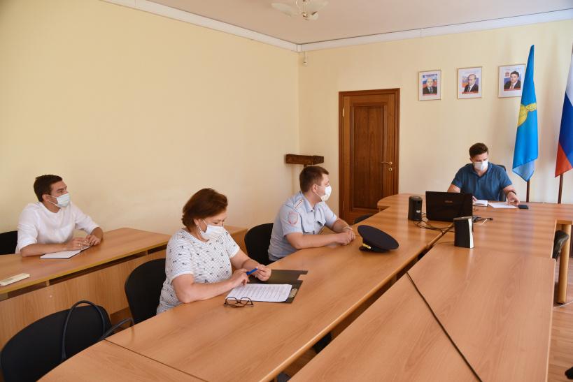 Заседание комиссии по безопасности дорожного движения прошло в г.о. Лотошино