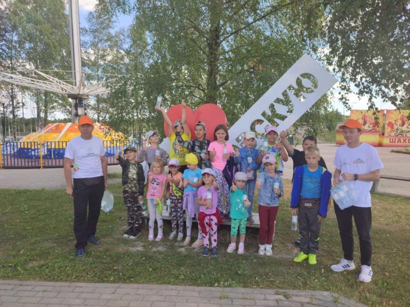 Воспитанники Шаховского социально-реабилитационного центра «Колпица» посетили городской парк