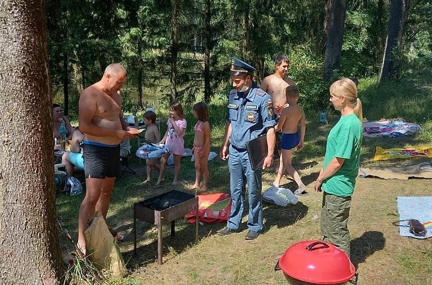 Соблюдайте правила безопасности в пожароопасный период