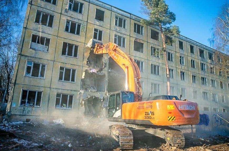 Более 500 объектов незавершенного и самовольного строительства ликвидировано за полгода в Подмосковье