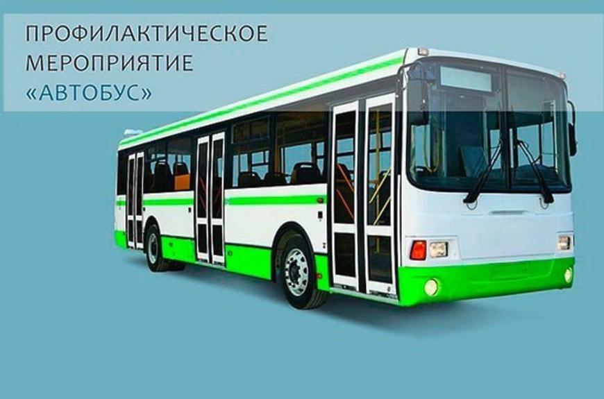Контроль за пассажирскими перевозками в рамках профилактического мероприятия «Автобус»