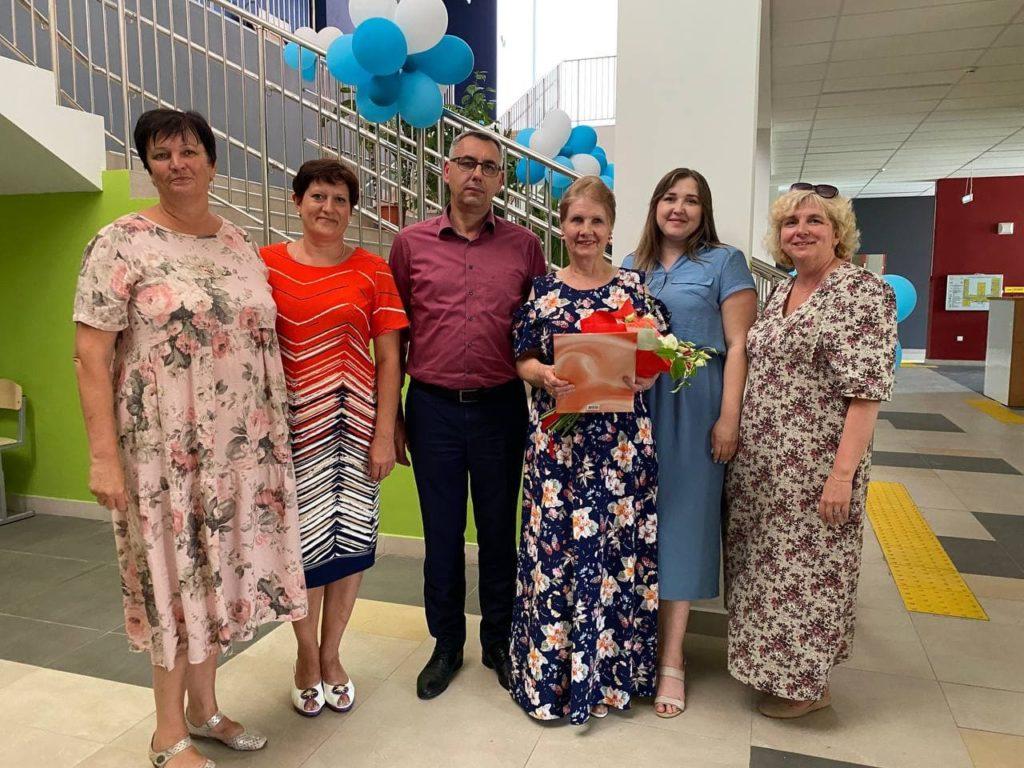 Свой юбилей отметила директор Волоколамской СОШ №3