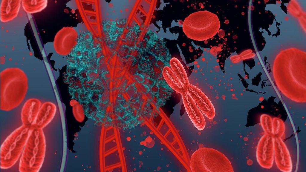 Закрепился в генах. Ученые обнаружили влияние коронавируса на ДНК человека