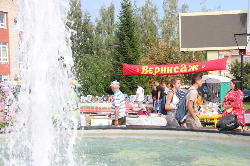 «Вернисаж» и «планета Зонтиков» на Дне города в Шаховской