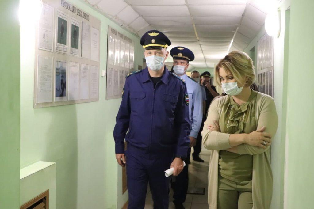 В Волоколамске проверили соблюдение прав человека в СИЗО №2