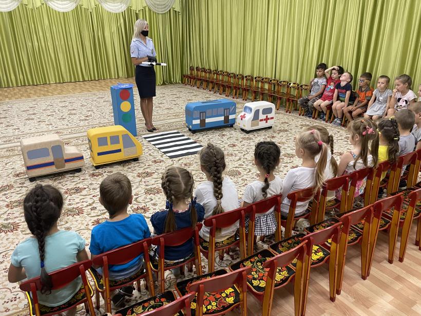 Шаховские госавтоинспектора провели мероприятие для дошколят