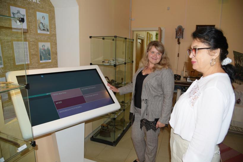 Новое оборудование приобретено в Лотошинский музей