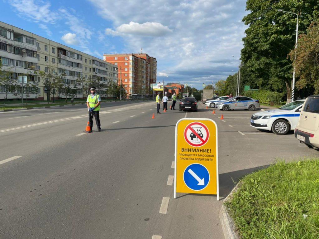 В выходные дни в Волоколамском городском округе автоинспекторы проверили водителей на трезвость