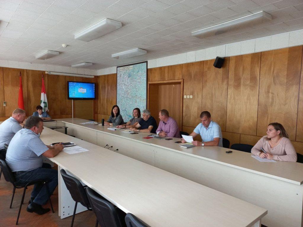 В рамках еженедельного штаба обсудили подготовку Волоколамского округа к отопительному сезону