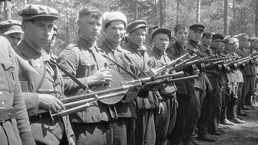 Партизанское движение в Волоколамском округе
