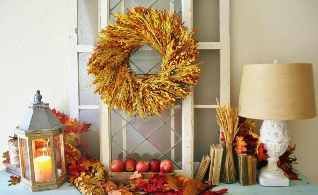 Украшаем дом к осени – лучшие идеи для осеннего декора