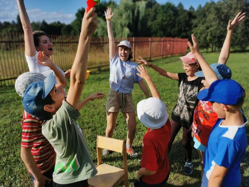 Игры на свежем воздухе – лучшая реабилитация для ребят из Волоколамского СРЦН