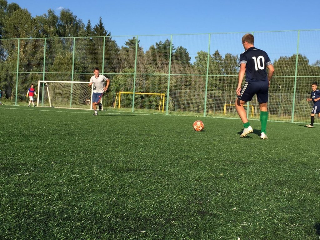 В Волоколамском округе прошёл одиннадцатый тур Открытого первенства по футболу «Спортивный ЮГ»