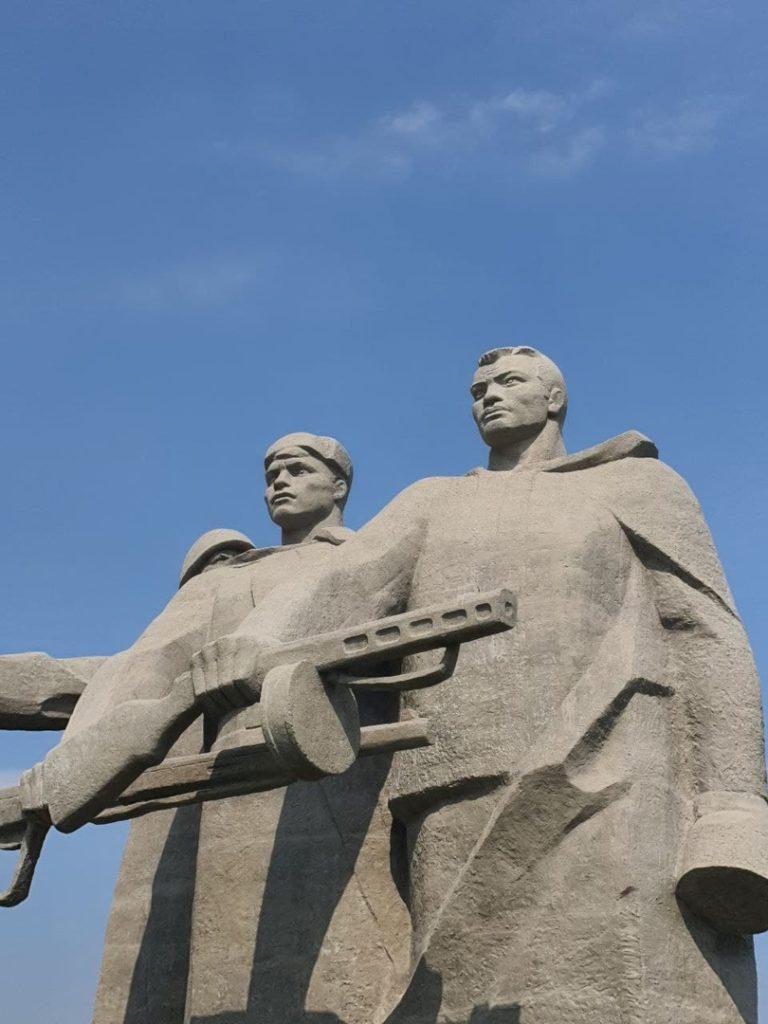 Завершается реставрация мемориала в Волоколамске