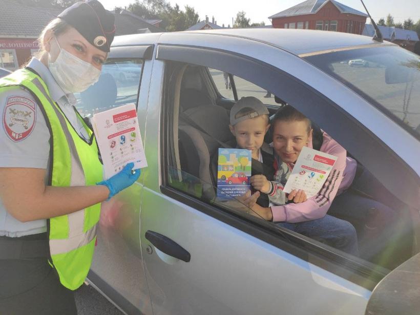 В Волоколамске сотрудники Госавтоинспекции провели массовые проверки по перевозке детей в автомобилях