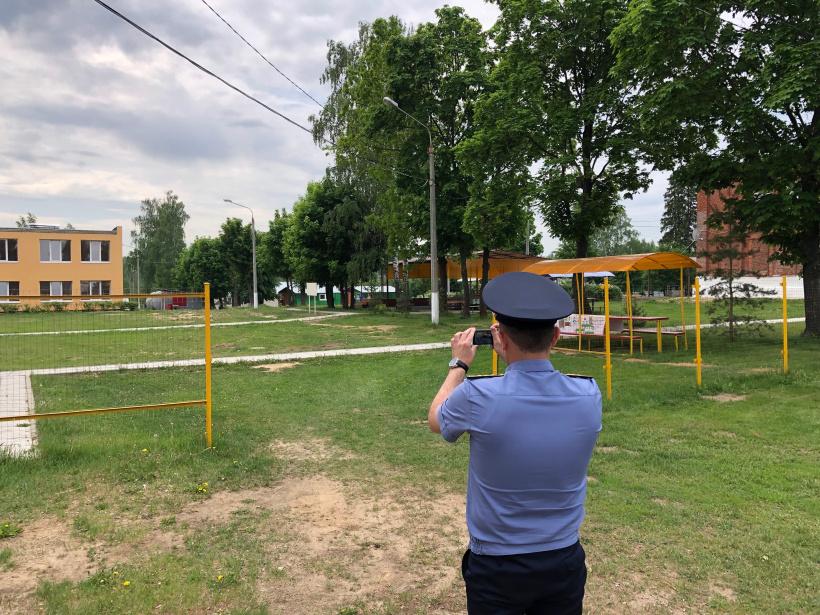 Госадмтехнадзор проверил 45 детских игровых площадок в г.о. Шаховская