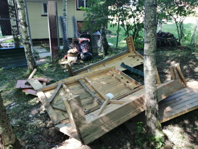 Волоколамские лесничие поймали строителя-неряху