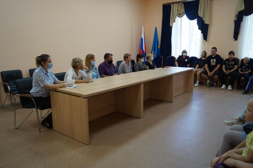 Сотрудники ОМВД России по г.о. Лотошино провели семинар-совещание совместно с работниками субъектов системы профилактики