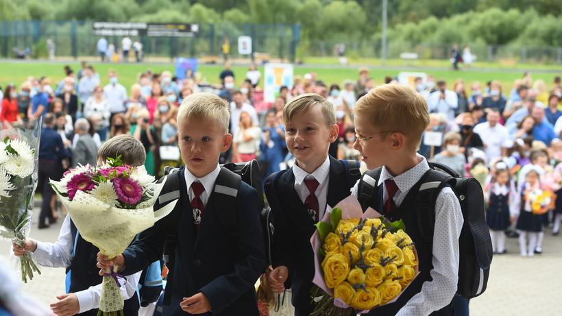 Почти 1 млн детей пойдут в школы Подмосковья 1 сентября
