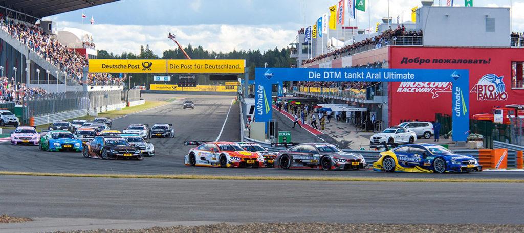 На Moscow Raceway завершился этап чемпионата России по автоспорту